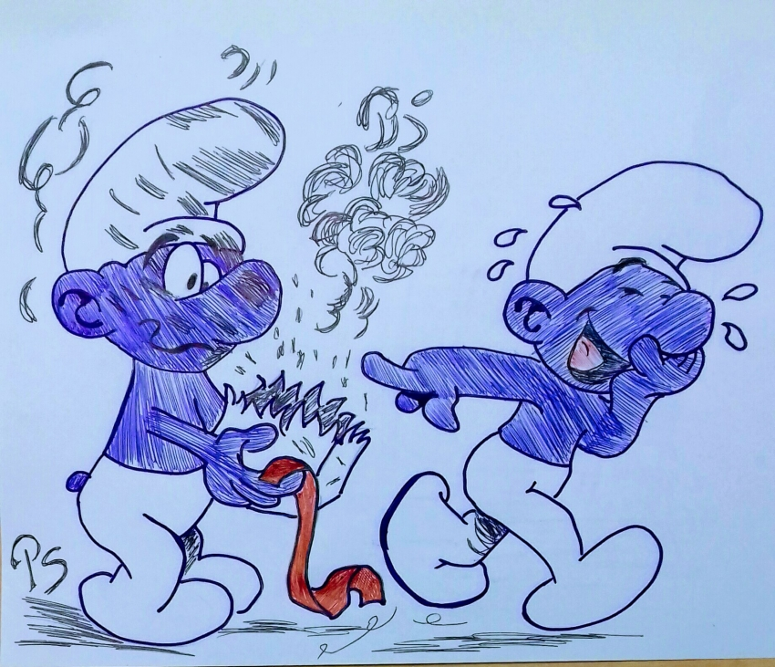 The Smurfs by PenStilos